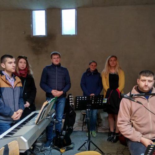śpiew podczas Eucharystii, zespół S.Anto