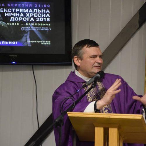 ks. Grzegorz Draus, Msza św. otwierająca Drogę Krzyżową
