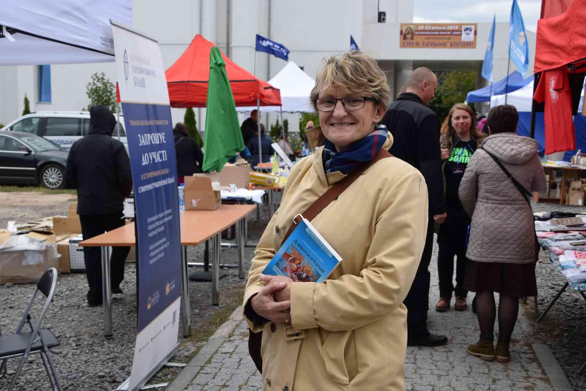 """Magda Kaczmarek z """"Kirche in Not"""""""
